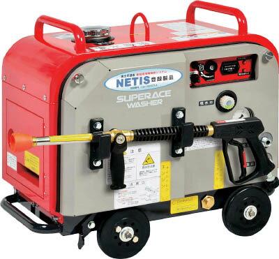 スーパー工業 ガソリンエンジン式 高圧洗浄機 SEV−2108SS(防音型) 【1台】【SEV2108SS】(清掃機器/高圧洗浄機)