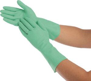 ショーワ しなやか中厚手 Lサイズ グリーン 【1双】【SNYKCLG】(作業手袋/天然ゴム手袋)