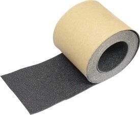 TRUSCO(トラスコ) ノンスリップテープ 屋外用 100mmX5m ブラック 【1巻】【TNS100】(テープ用品/すべり止めテープ)
