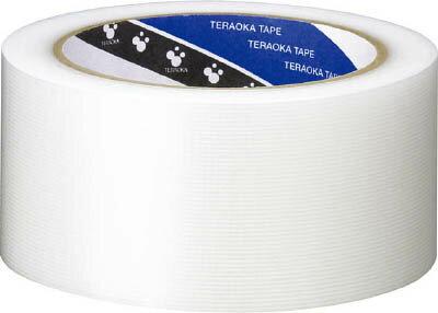 TERAOKA P?カットテープ NO.4140 透明 50mmX25M 【4140TM50X25】 【1巻】(テープ用品/養生テープ)