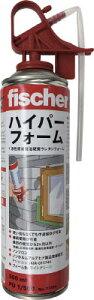 フィッシャー 発砲ウレタンハイパーフォーム PU1/500 B2ライトグリーン 【1本】【33394】(接着剤・補修剤/発泡ウレタン)