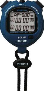 SEIKO ストップウオッチソーラー スタンダード ブルー 【1個】【SVAJ005】(計測機器/ストップウォッチ・タイマー)