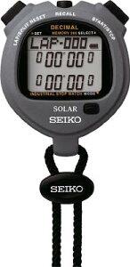 SEIKO ストップウオッチソーラー インダストリアル グレー 【1個】【SVAJ999】(計測機器/ストップウォッチ・タイマー)