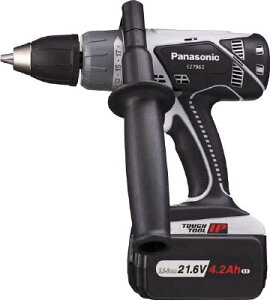 Panasonic 21.6V振動ドリル&ドライバー【EZ7960LS1SB】【1台】(電動工具・油圧工具/ドリルドライバー)