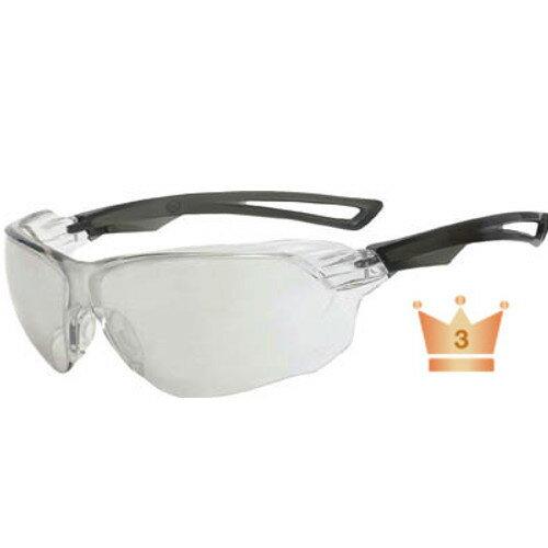 【花粉症対策】TRUSCO(トラスコ) 二眼型セーフティグラス スポーツタイプ レンズシルバー 【1個】【TSG108SV】(保護具/二眼型保護メガネ)