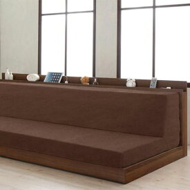 ベッド ベット ブラウン ベージュ 既成品 カジュアル シンプル 完成品 布地 茶 ブラウン アイボリー 210cm おしゃれ カジュアル シーツ 送料無料
