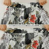 Floral design & leaf pattern sill key material nine minutes length culottes underwear eight minutes length flare gaucho wide buggy Lady's [M service 10/10] in the spring and summer