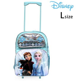 アナと雪の女王 キャリーバッグ L ディズニー 子供 2Way リュック コロコロ 旅行 かばん【あす楽対応】