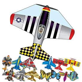 凧 凧揚げ カイト マイクロカイト アウトドア 飛行機 WINDNSUN 子供 おもちゃ【ゆうパケット対応】【あす楽対応】