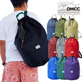 OMCC ドラムバッグ 大容量 60L ボンサック バッグ ショルダー パッカブル 特大 サイズ【あす楽対応】