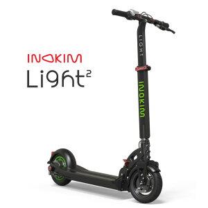 最新 INOKIM Light2 電動キックボード ¥モーター 電動スクーター 正規品 高性能 電動 エアータイヤ キックボード サスペンション付き 折りたたみ リチウムイオンバッテリー INOKIM Light2 正規輸入