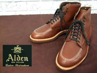 Alden 405 Indy Boots Indy boots /BROWN (1)