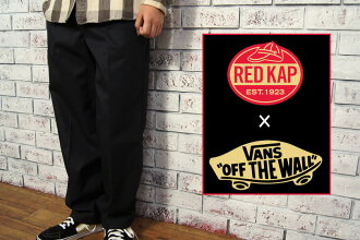 VANS×red KAP vans x Red cap work Chino/black