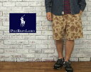 【POLO by Ralph Lauren】 ラルフローレン Relaxed-Fit デザート カモ ショーツ【あす楽】