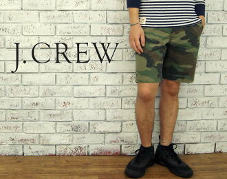 "9 j.crew ""GRAMERCY CAMO SHORT wash processing camouflage Chino shorts"