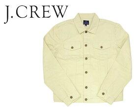 ★★ J.CREW ジェイクルー ホワイト デニムジャケット Gジャン/WHITE あす楽