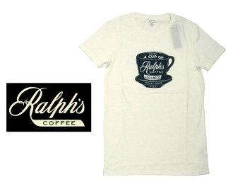 拉尔夫的咖啡拉尔夫劳伦 T 衬衫白色咖啡