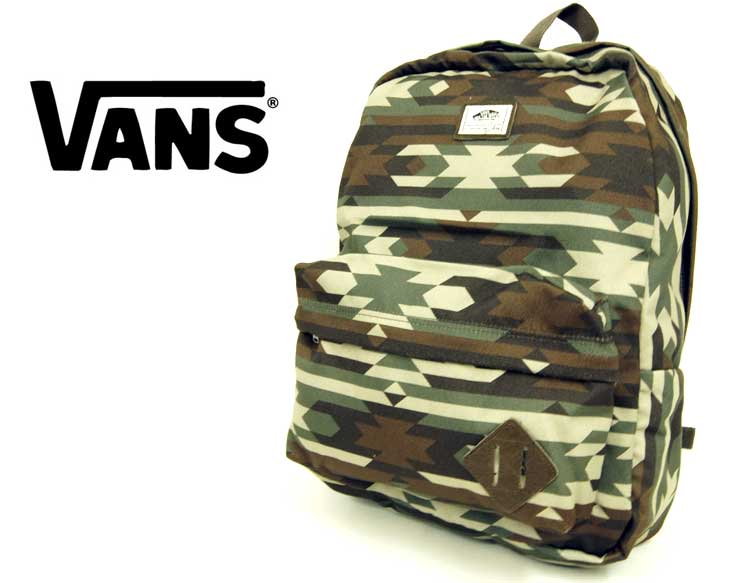 VANS バンズ OFF THE WALL ネイティブ迷彩柄 バックパック