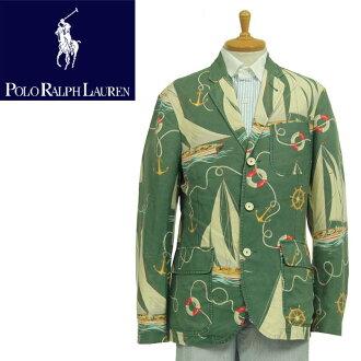 马球拉尔夫劳伦拉尔夫劳伦亚麻 / 棉量身定做 Aloha 自定义适合游艇型夹克