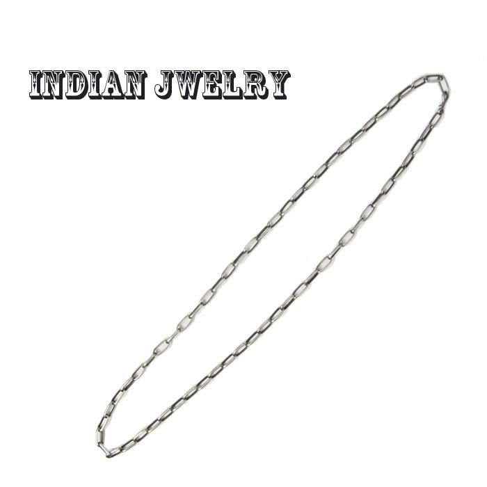 INDIAN JEWELRY インディアン ジュエリー シルバーチェーン ネックレス(75cm) あす楽