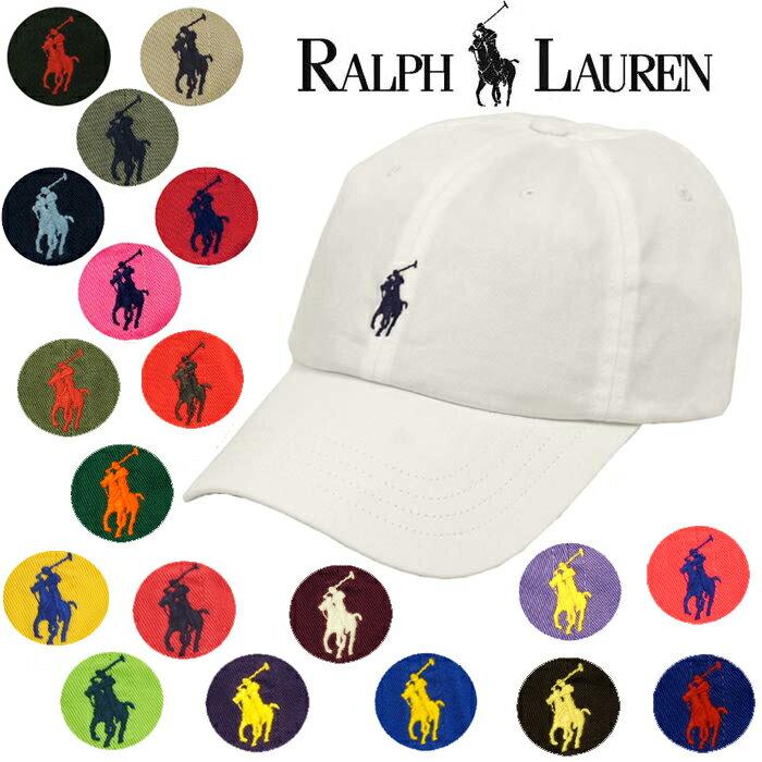 ラルフローレン ポロ POLO Ralph Lauren ワンポイント ポニー ウォッシュ加工 キャップ 帽子■