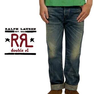 "RRL拉尔夫劳伦DOUBLE RL双公亩L LOW STRAIGHT牛仔裤""YOSEMITE"""