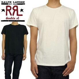 RRL ラルフローレン DOUBLE RL ダブルアールエル ソリッド S/S クルーネック Tシャツ