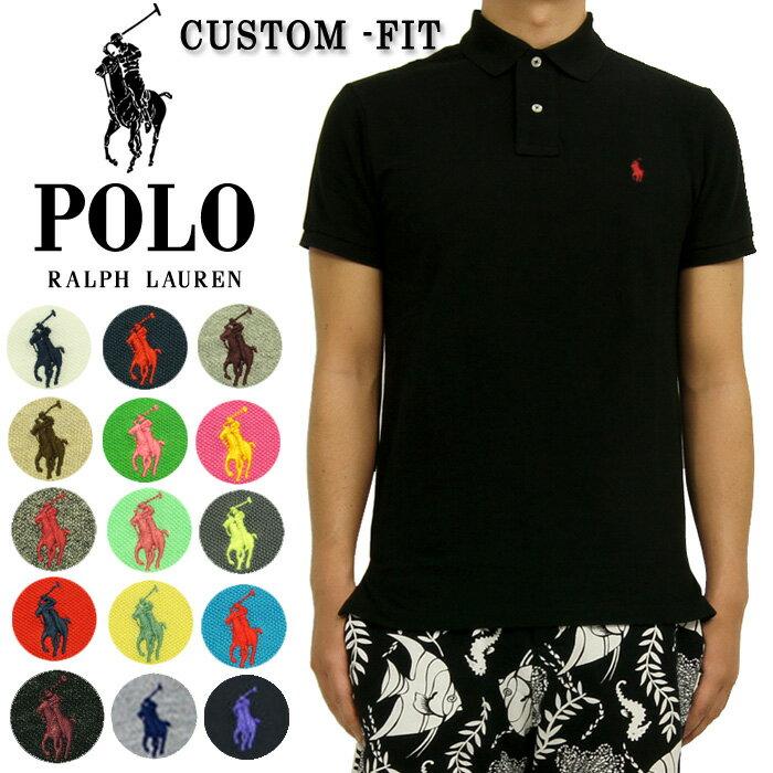 POLO by Ralph Lauren ラルフローレン CUSTOM FIT ワンポイント ポニー ポロシャツ