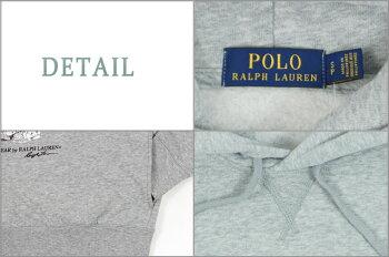 【POLObyRalphLauren】ラルフローレンハーフボタンインディゴリブ編みパーカー【あす楽対応】