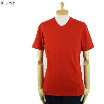 【メール便送料無料!】POLObyRalphLaurenラルフローレンワンポイントポニーVネックTシャツ
