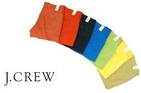 ★★ J.CREW  ジェイクルー urban slim fit ウォッシュ加工 カラー チノ パンツ/color