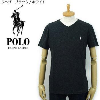 POLObyRalphLaurenラルフローレンワンポイントポニーVネックTシャツあす楽