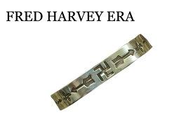 INDIAN JEWELRY  FRED HARVEY フレッド ハーヴィー Swastika&Arrow シルバーバングル