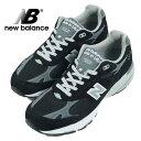 """ニューバランス NEW BALANCE MR993BK """"MADE IN USA"""" ブラック"""
