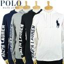 ラルフローレン POLO Ralph Lauren ビッグポニー フーディー ロングスリーブ Tシャツ 4カラー ロンT