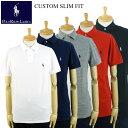 ラルフローレン POLO Ralph Lauren CUSTOM SLIM FIT メンズ ワンポイント ポニー ポロシャツ