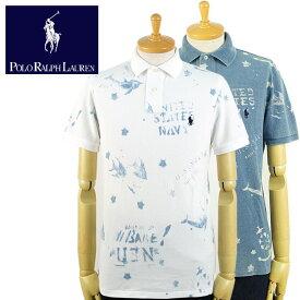 ラルフローレン POLO Ralph Lauren CUSTOM SLIM FIT マリン ポロシャツ 2カラー