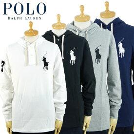 ラルフローレン POLO Ralph Lauren BIG PONY ビッグポニー フード付き 長袖 ポロシャツ 5カラー