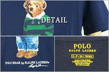 【POLObyRalphLauren】ラルフローレンヴィンテージ加工インディアンフェイスプリントTシャツ【あす楽対応】
