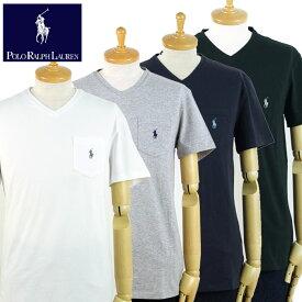 ラルフローレン POLO Ralph Lauren ワンポイント ポニー Vネック ポケット Tシャツ 3色