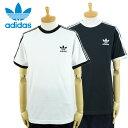 アディダス 3ストライプ Tシャツ adidas 3-STRIPES TEE CW1202 ブラック ホワイト