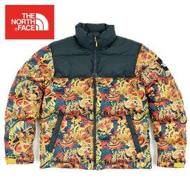 ノースフェイス 1992 ヌプシ ダウン ジャケット THE NORTH FACE 1992 NUPTSE JACKET レオパードイエロー