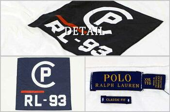 ラルフローレンPOLORalphLaurenCP-93クラシックフィットTシャツブルー/ホワイト