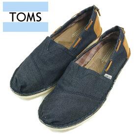 【OUTLET】【TOMS】 トムズ デニム シューズ Denim Bimini Stitchouts