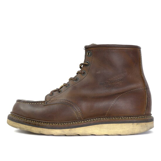 Red Wing(紅翅膀)08'1907嘲笑二長筒靴(6inch CLASSIC MOC TOE)kopparafu US8 D(26cm) BEEGLE by Boo-Bee