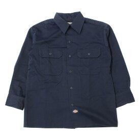 RHC Ron Herman(アールエイチシー ロンハーマン) ×Dickies チノ ワークワイドシャツ ネイビー XS【K2047】【中古】【レディース】