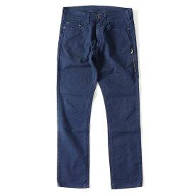 【プライスダウン】Neil Barrett (ニールバレット) ジップポケット付きスキニーカラーデニムパンツ ブルー 30 【メンズ】【K2389】【中古】【あす楽☆対応可】