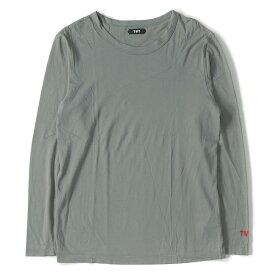 TMT (ティーエムティー) 16A/W ピマコットンロングスリーブTシャツ(PIMA COTTON JERSEY) グレー S 【美品】【メンズ】【K2324】【中古】【あす楽☆対応可】