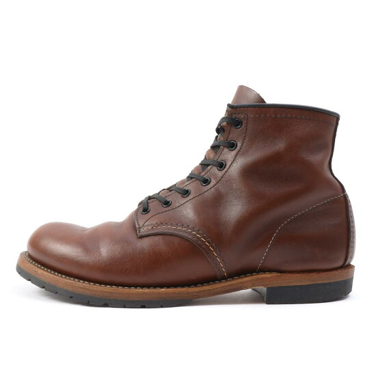 Red Wing(紅翅膀)10'9016 Beckman Instruments局長筒靴(BECKMAN ROUND BOOTS)雪茄US10 D(28cm) BEEGLE by Boo-Bee