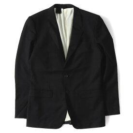 N.HOOLYWOOD (エヌハリウッド) ウール2Bテーラードジャケット ブラック M 【メンズ】【K2182】【中古】【あす楽☆対応可】